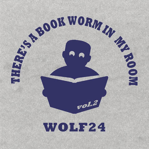 WOLF 24 there's a book worm in my room VOL.2 MIX CD
