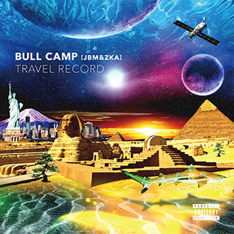 BULL CAMP ( JBM & ZKA ) travel record CD