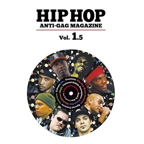 HIP HOP ANTI GAG MAGAZINE vol.1.5