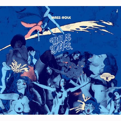 MASS-HOLE blue tape CD