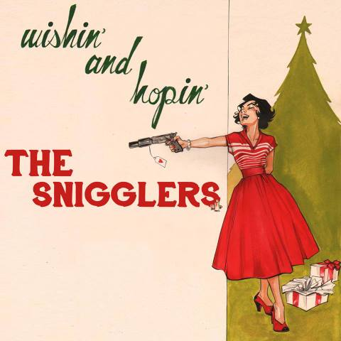 THE SNIGGLERS wishin and hopin MIX CD-R