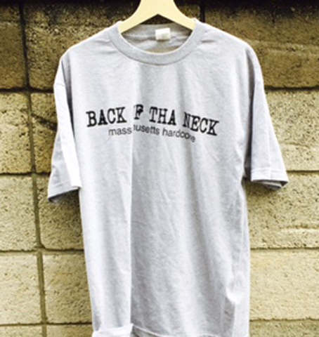 BACK OF THA NECK fight everyone T-SHIRTS