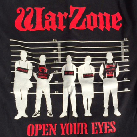 WARZONE open your eyes T-SHIRTS