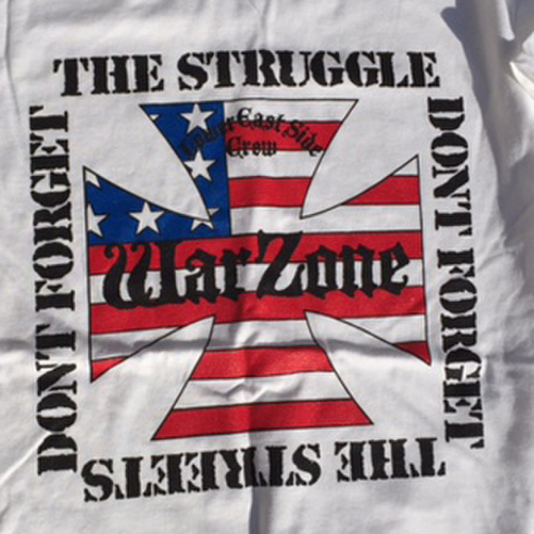 WARZONE don't forget your struggle T-SHIRTS