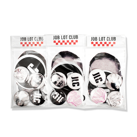 JOB LOT CLUB pins&stickers pack