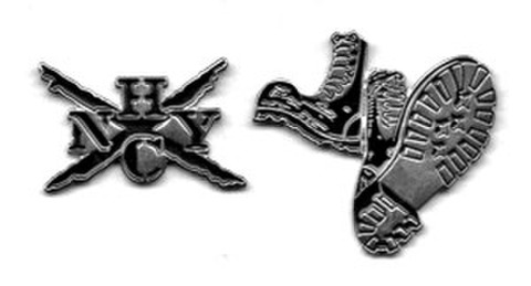 NEW YORK HARD CORE pinbadge SET
