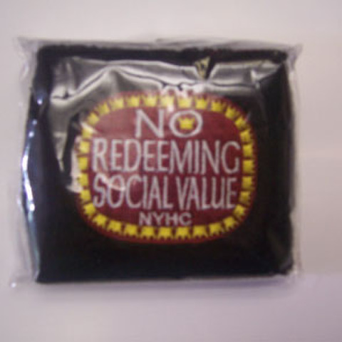 NO REDEEMING SOCIAL VALUE リストバンド