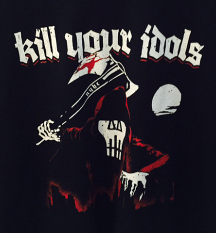 KILL YOUR IDOLS 20years T-SHIRTS