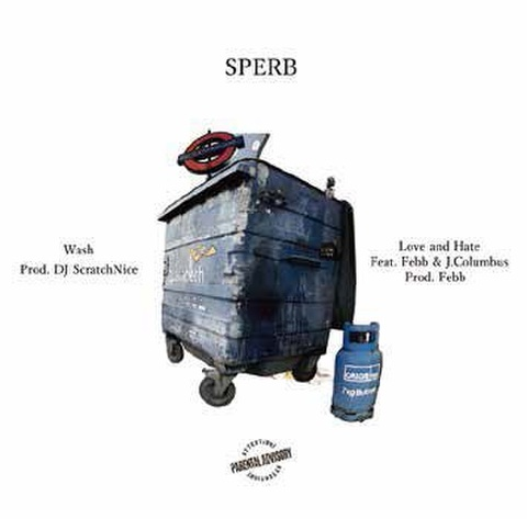 SPERB love & hate feat. febb & j.columbus 7inch