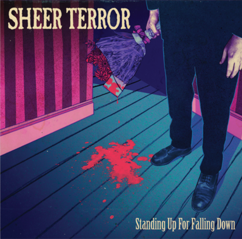 SHEER TERROR  stand up fo falling down LP