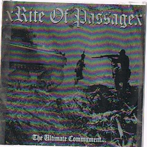 xRITE OF PASSAGEx the ultimate commitment CD-R ( USED )