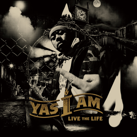 YAS I AM live the life CD