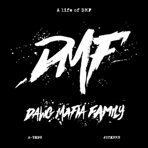 A-THUG & DJ J-SCHEME life of DMF MIXTAPE CD
