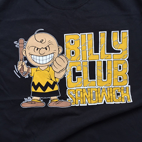 BILLY CLUB SANDWICH euro tour 2017 T-SHIRTS