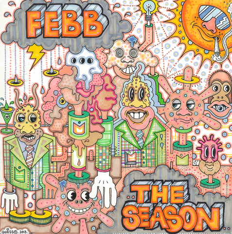 """febb """"THE TEST / FOR YOU"""" 7inch"""