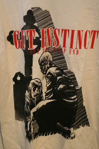 GUT INSTINC off dead T-SHIRTS