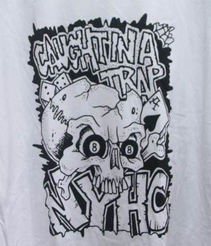 CAUHGT IN A TRAP NYHC RAGLAN T-SHIRTS1