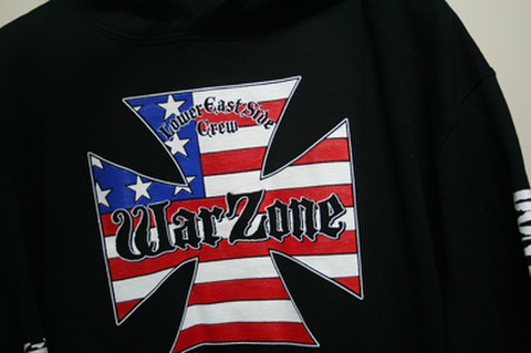 WARZONE don't forget the struggle HOODIE BLACK