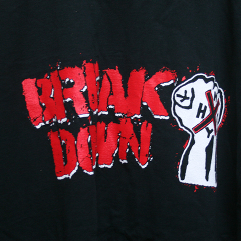 BREAKDOWN fist T-SHIRTS