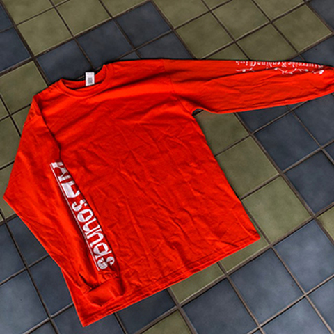 WDsounds x RIVERSIDE READING CLUB LONG SLEEVE T-SHIRTS