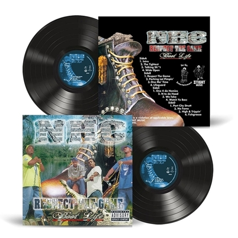 NHC respect the game boot life 2LP