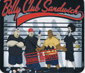 BILLY CLUB SANDWICH マウスパッド
