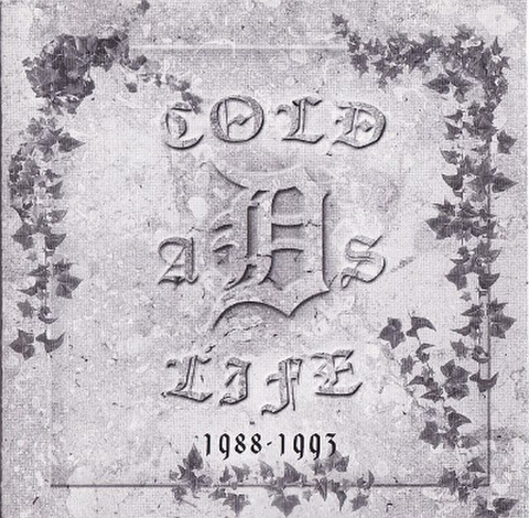 COLD AS LIFE 1988-1993 discography CD