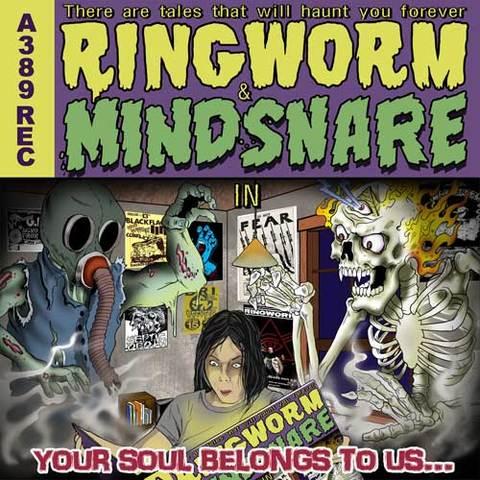 RINGWORM / MINDSNARE split 7inch