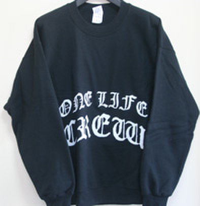 ONE LIFE CREW scaring CREWNECK SWEAT