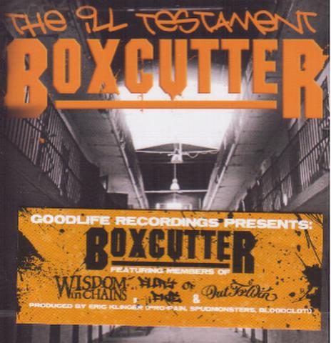 BOX CUTTER the ill testament CD