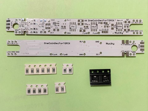 ワンコインデコーダ for TOMIX 基板2枚セット