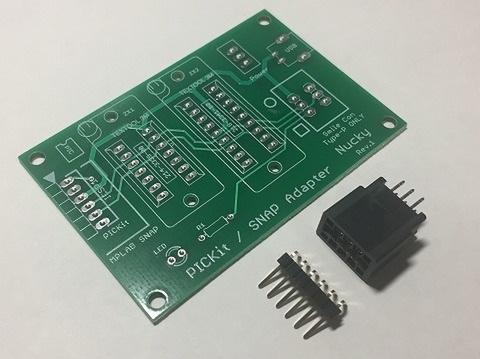 【1.6mm専用】PICKit/SNAPアダプタ(0.6mm用お持ちの方専用)