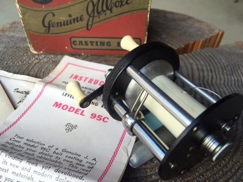 J.A.COXE MODEL95C DIRECT REEL