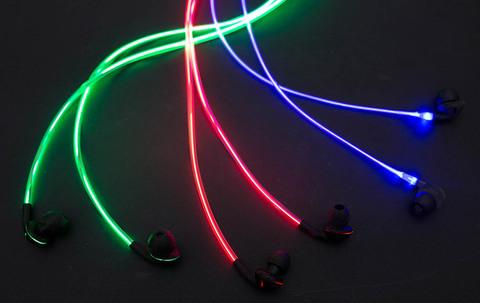 米Glow社製発光イヤホン「glow(グロウ)」