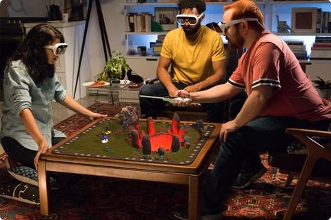 ARボードゲーム「Tilt Five」