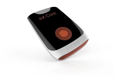 加exklim社製ポータブルグラフィックカード「eX Core」
