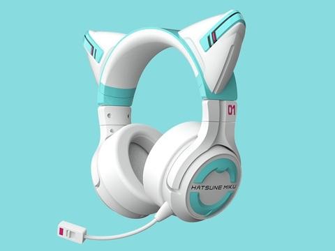 猫耳ゲーミングヘッドセット「MIKU」