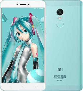 Xiaomi Redmi Note 4X Hatsune Miku Limited Edition