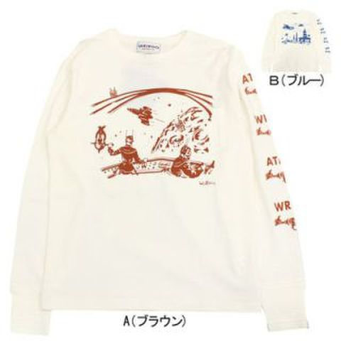 weirdo 17AW23 ATOMIC SPACE_L/S Te'AB