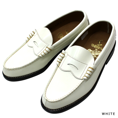 REGAL × GLAD HAND COIN LOAFERS-SHOES WHITE