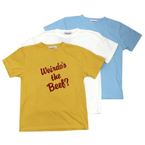weirdo 19SS35 Weirdo's the Beef?-S/S T-SHIRTS