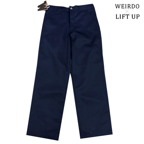 "weirdo19SS LIFT UP  W&L Pants""NAVY"""