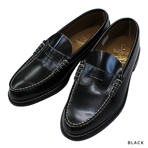 REGAL × GLAD HAND COIN LOAFERS-SHOES BLK