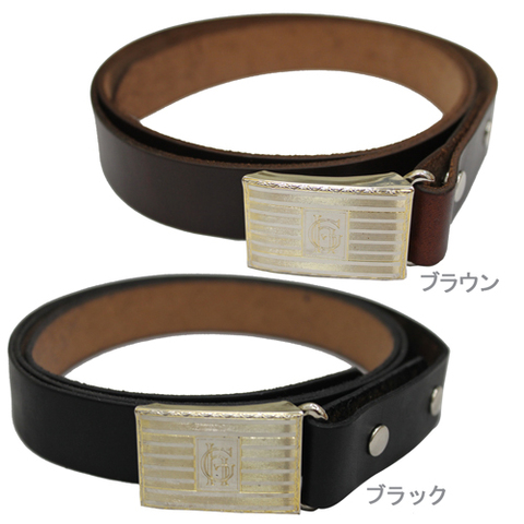 GLAD HAND JEWELY SLIDE LOCK BUCKLE BELT