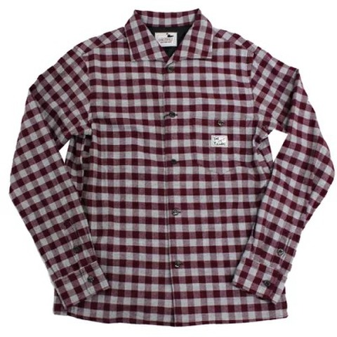 gangstervill 19aw29 THUG_L/S CHECK SHIRTS
