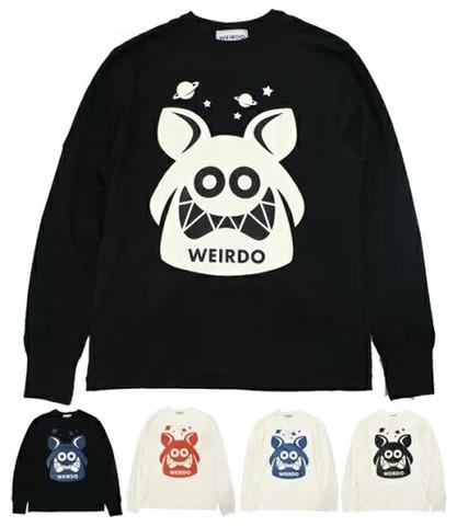 weirdo 20SS28 WEIRDO FINK_L/S T-SHIRTS