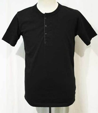 GLAD HAND-07 S/S HENRY Tee BLK