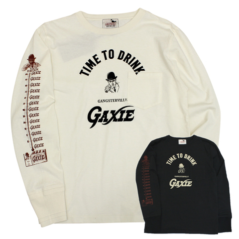 GANGSTERVILL 18AW42 TIME TO DRINK-L/S Te