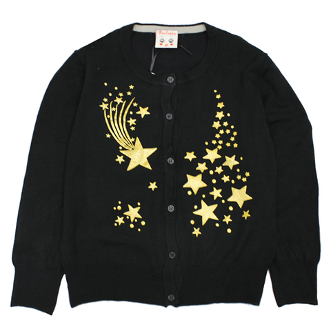 missladybug 18aw05 shooting stars-cardigan