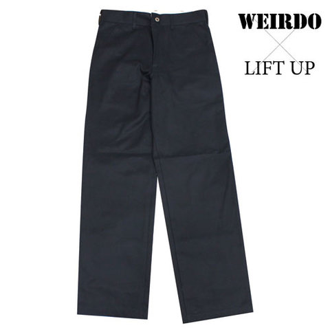 weirdo17AW13 LIFT UP  W&L PantsNVY